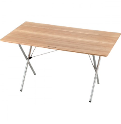 Snow Peak Single Action Table - Bamboo Top