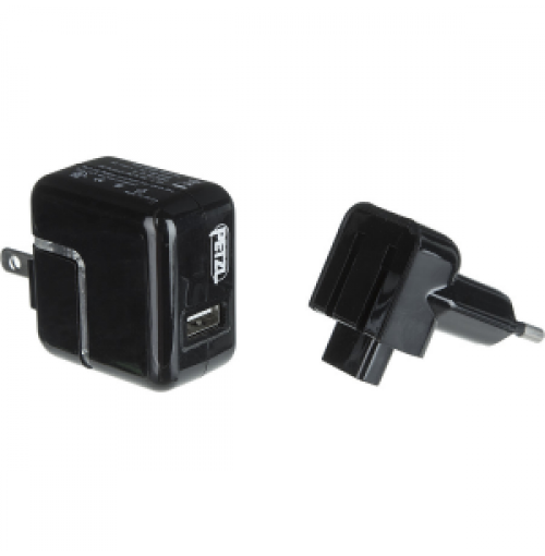 Petzl USB AC Wall Charger for Tikka R Plus and Tikka RXP