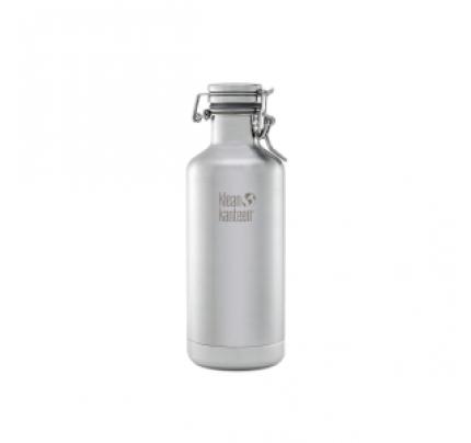Klean Kanteen 32oz. Vacuum Insulated Water Bottle with Swing Lok Cap