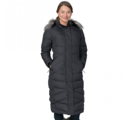 Basin and Range Blizzard Down Maxi Coat - Women's